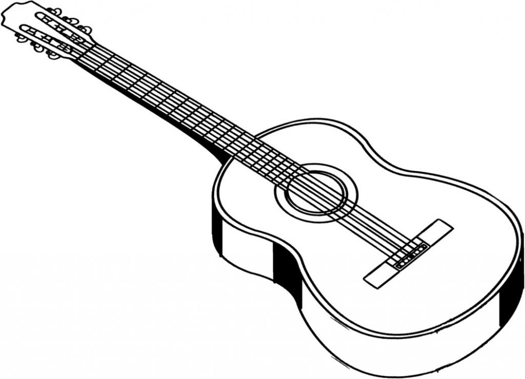 how to sketch a guitar guitar line drawing clipart free to use clip art guitar a sketch to how