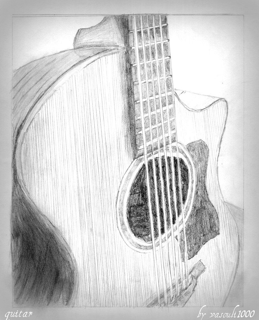 how to sketch a guitar how to draw a guitar template adobe illustrator sketch guitar a how to