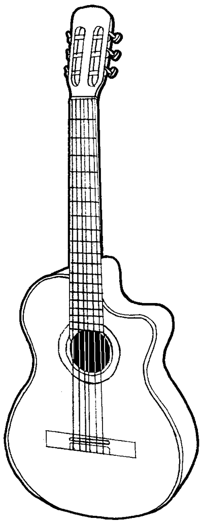 how to sketch a guitar learn how to draw an acoustic guitar musical instruments to sketch how guitar a