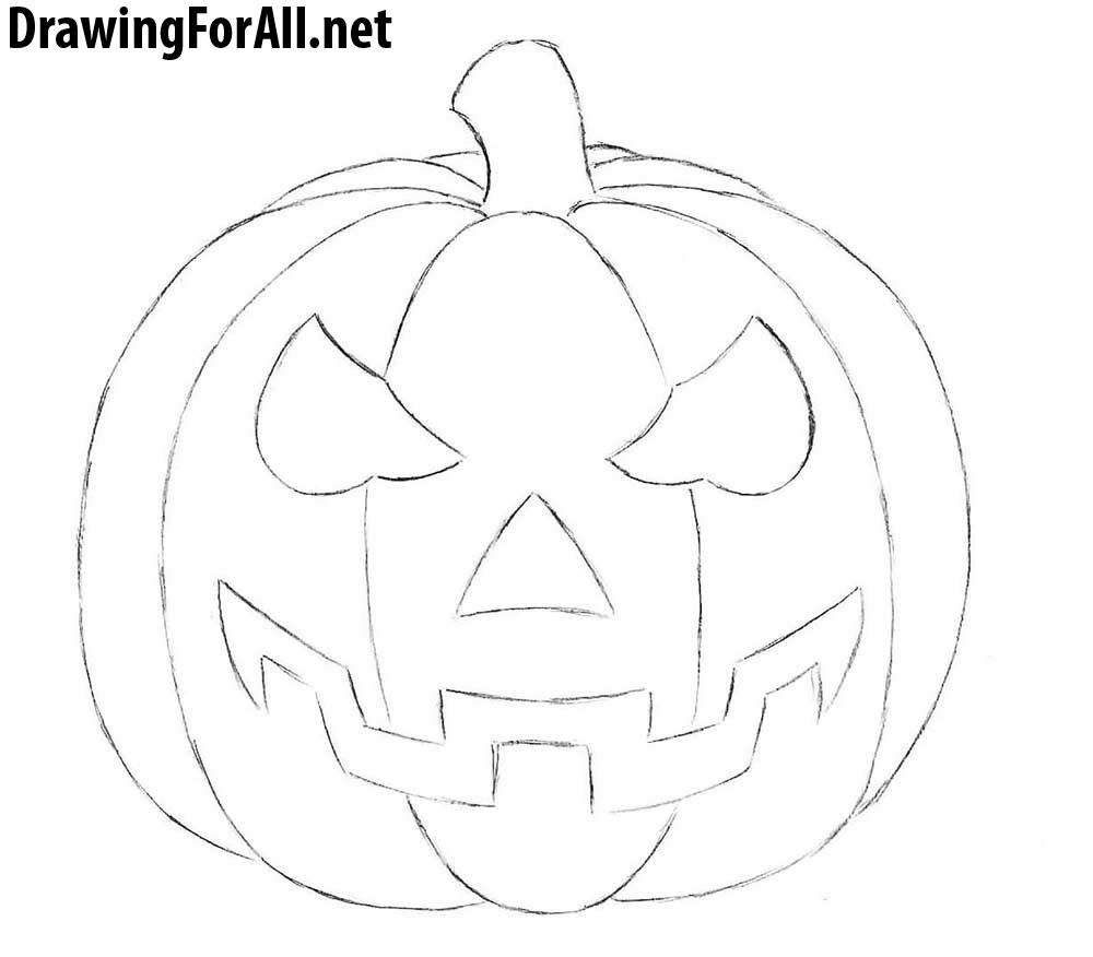 how to sketch a pumpkin el blog ariadna 30 trends ideas easy scary things to to a sketch pumpkin how
