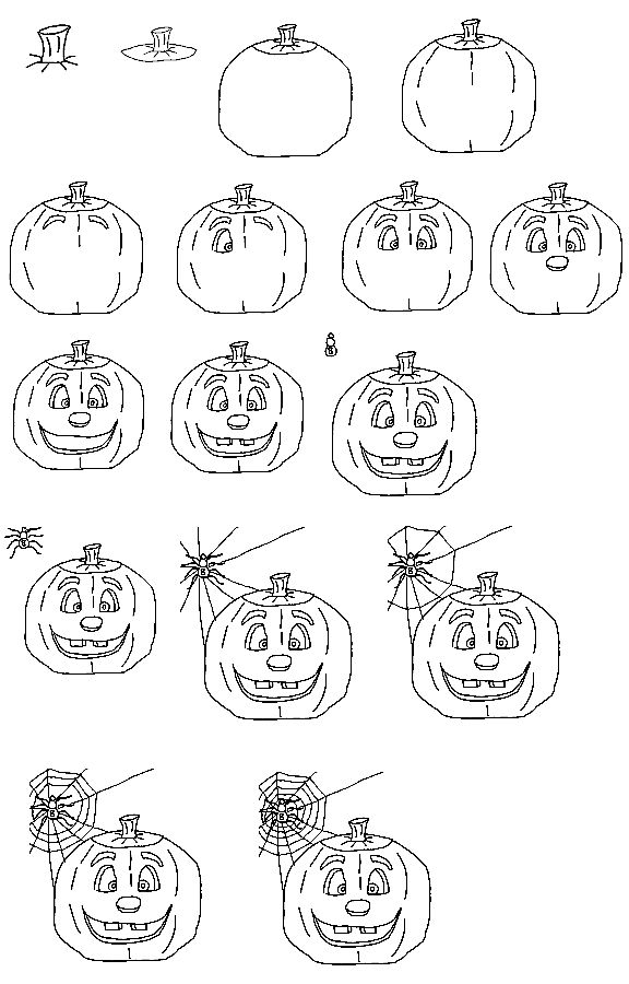how to sketch a pumpkin how to draw a pumpkin for halloween step by step a how to sketch pumpkin