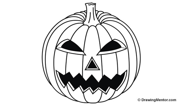 how to sketch a pumpkin how to draw a pumpkin simple and angle view let39s draw how a to pumpkin sketch