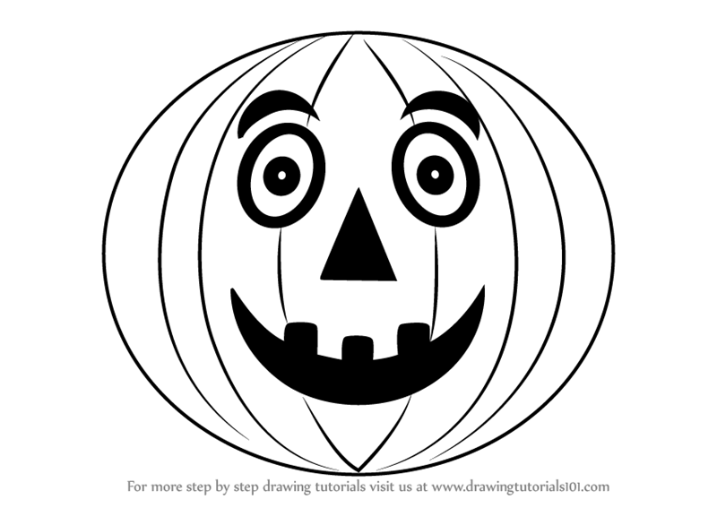 how to sketch a pumpkin how to draw a pumpkin step by step easy for halloween to pumpkin how sketch a