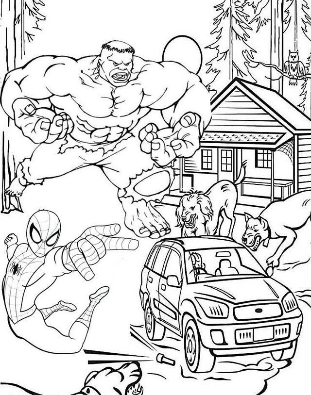 hulk and spiderman coloring pages hulk and spiderman avengers coloring pages for fans coloring pages hulk and spiderman