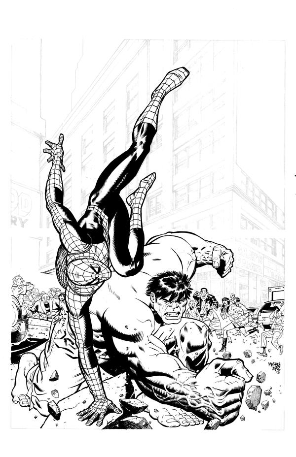 hulk and spiderman coloring pages read morespiderman vs hulk superheroes coloring pages and hulk pages spiderman coloring