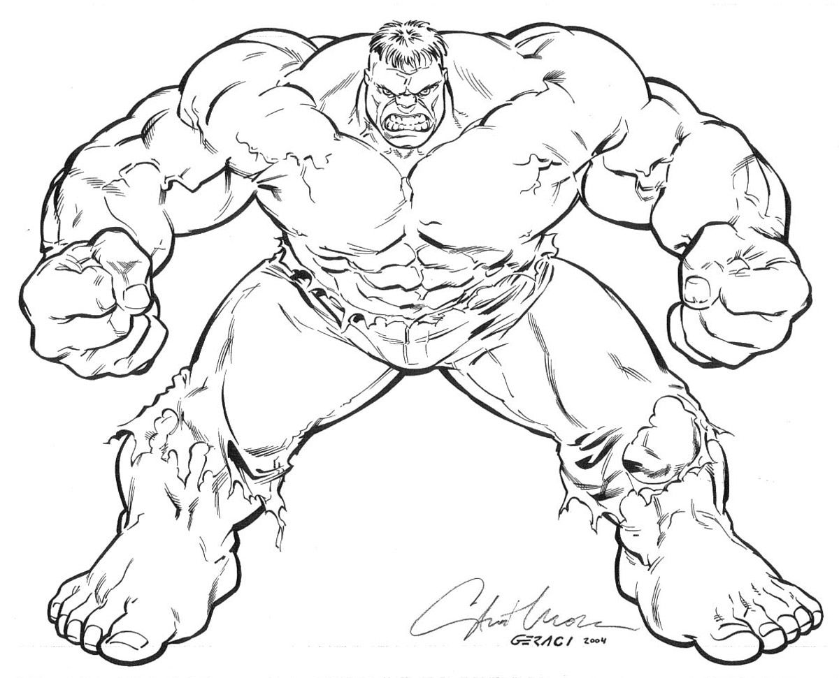 hulk outline for coloring hulk coloring pages getcoloringpagescom hulk outline for coloring