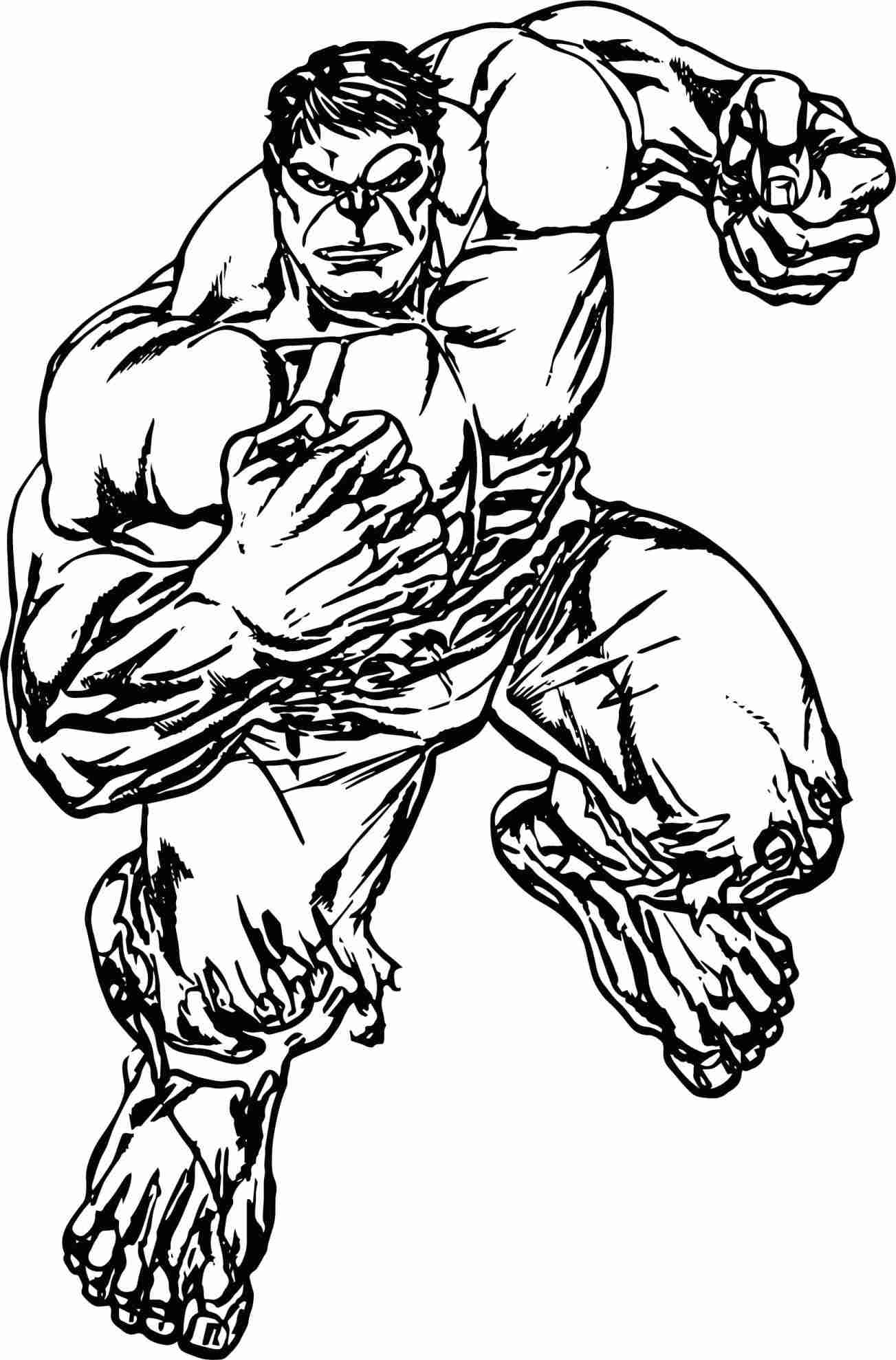 hulk outline for coloring hulk drawing easy free download on clipartmag for coloring hulk outline