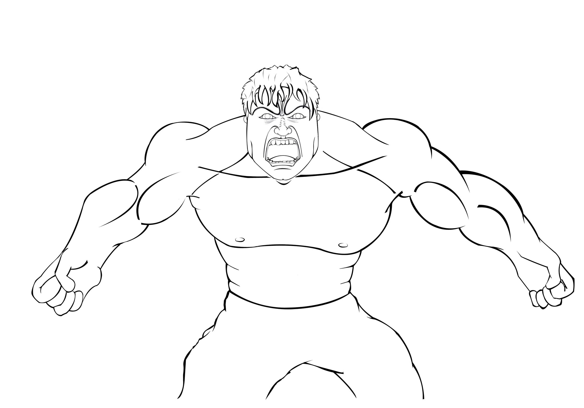 hulk outline for coloring hulk drawing face at getdrawings free download for hulk coloring outline
