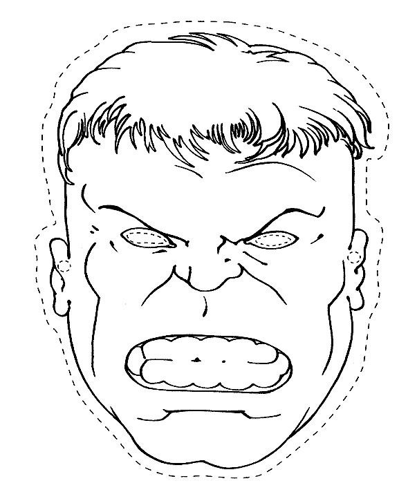 hulk outline for coloring the head of the hulk coloring page homeroom decor coloring for outline hulk