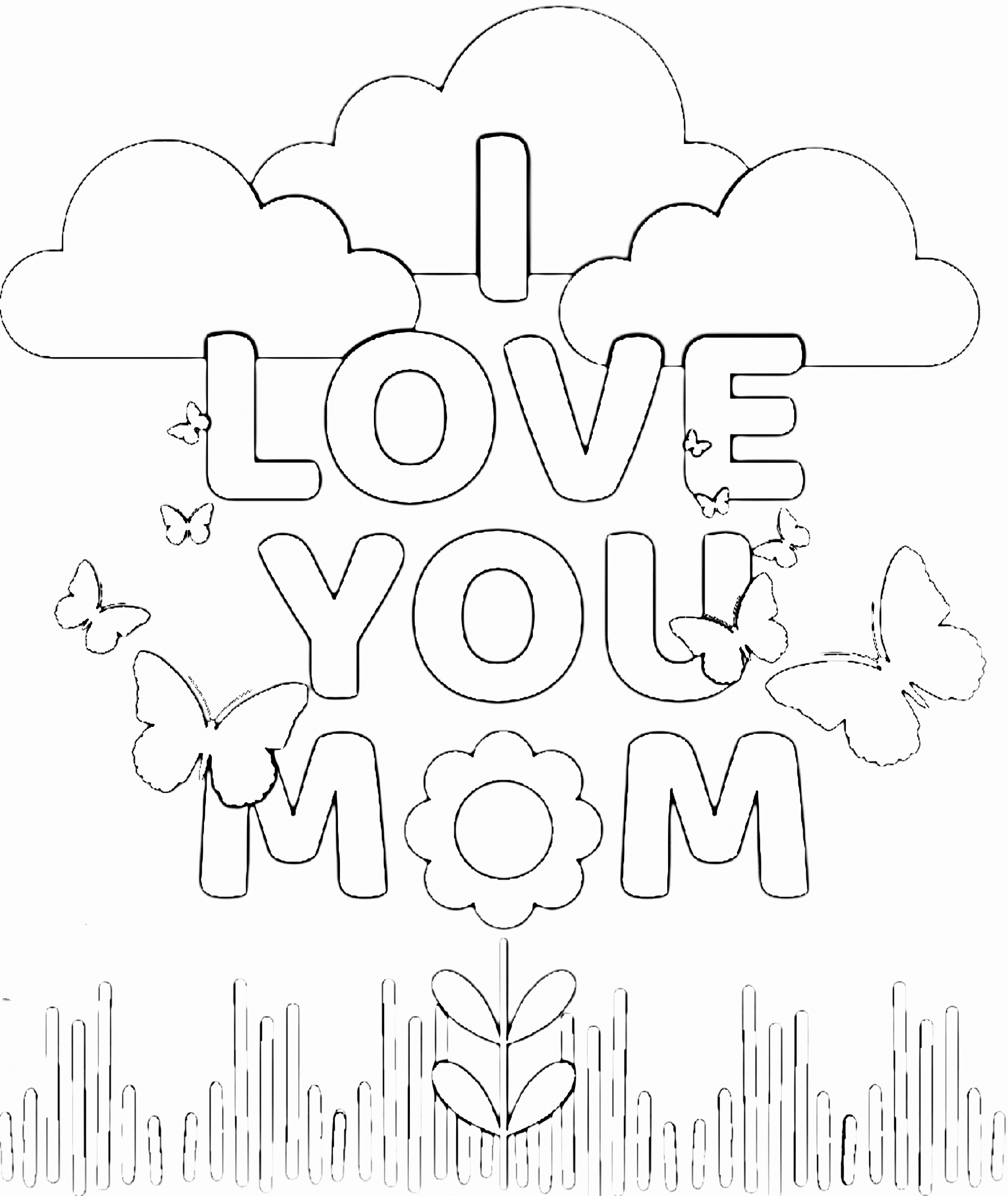 i love mom coloring pages printable i love you mom mother39s day coloring page free printable i coloring mom love pages
