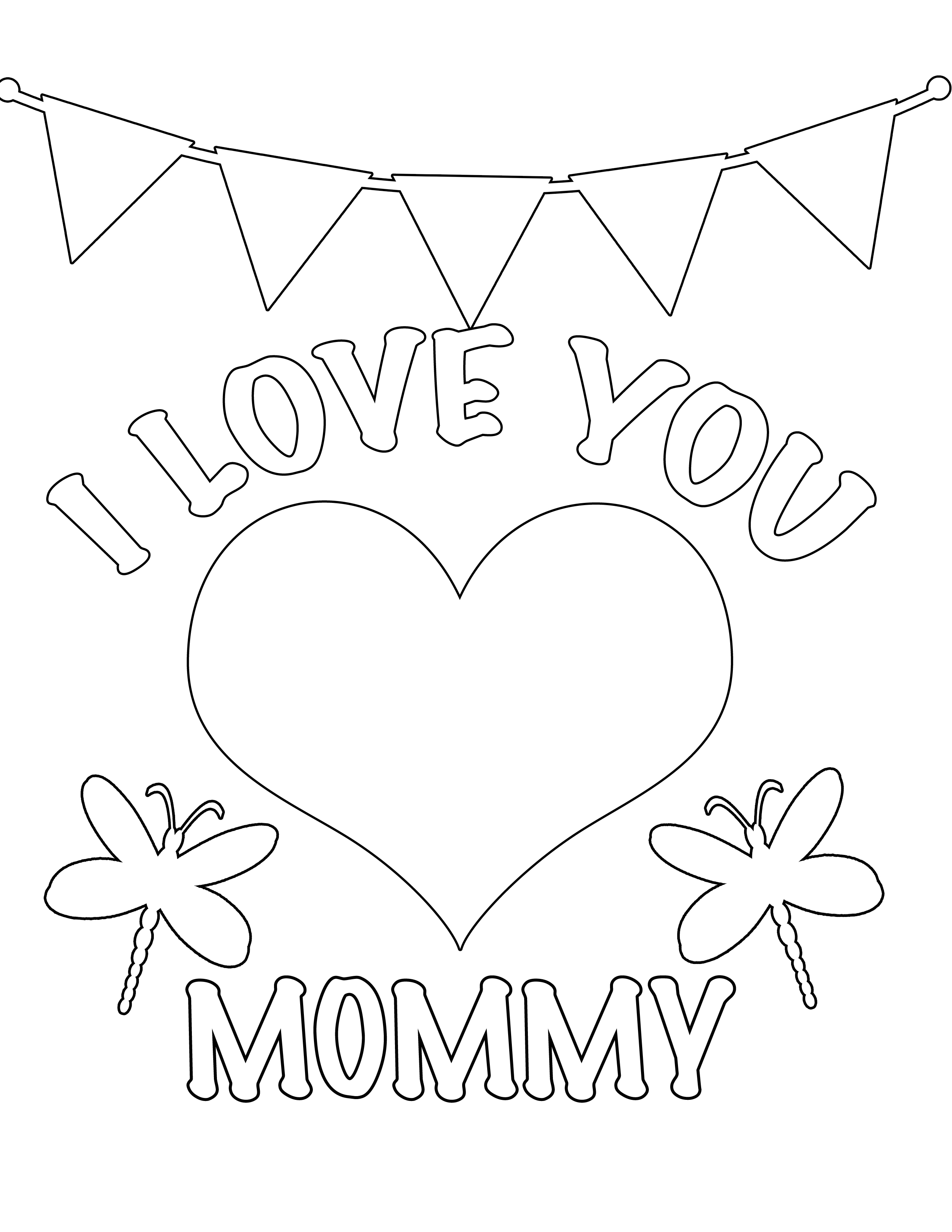 i love mom coloring pages printable party simplicity free valentines day coloring pages and coloring i printable mom love pages