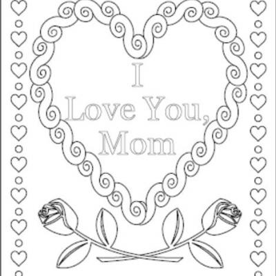 i love mom coloring pages printable thank you mom coloring pages at getcoloringscom free mom love printable coloring pages i