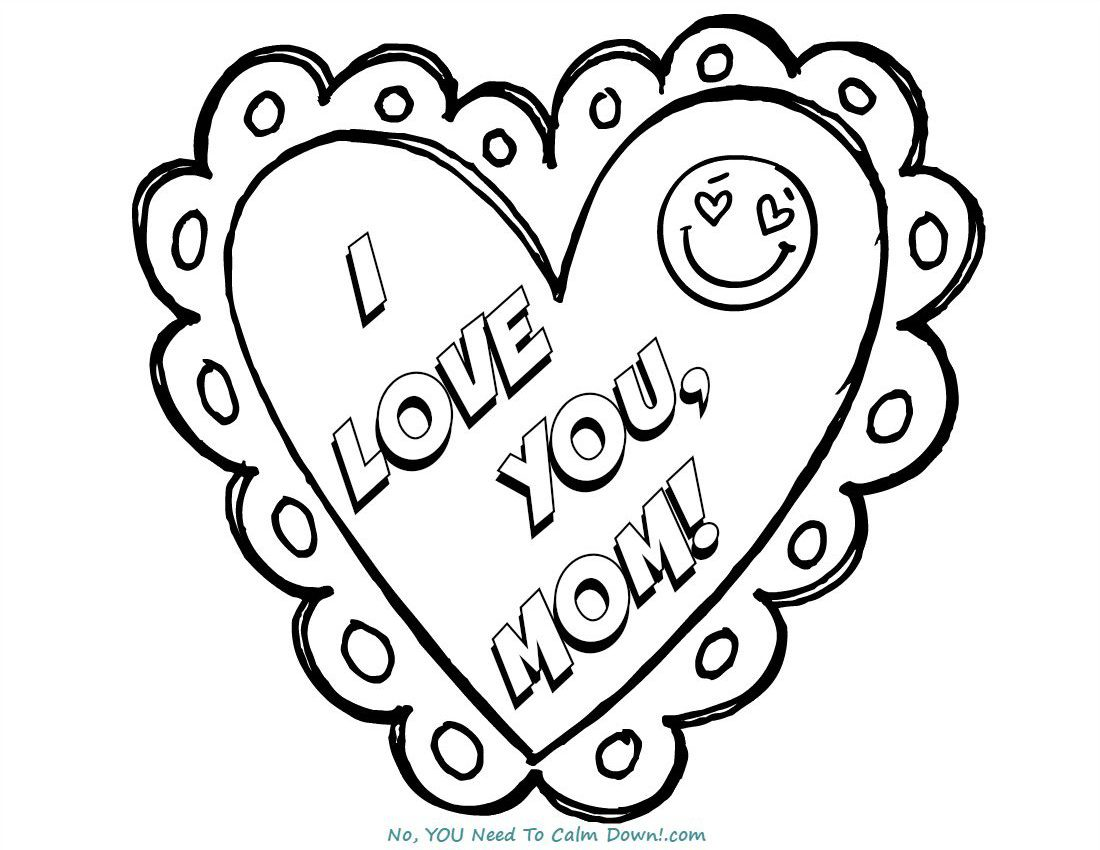 i love u mom coloring pages i love you mom coloring page free printable coloring pages coloring i mom u love pages
