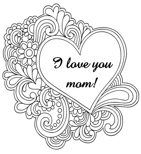 i love u mom coloring pages i love you mom coloring pages az coloring pages mom love coloring mom pages u i