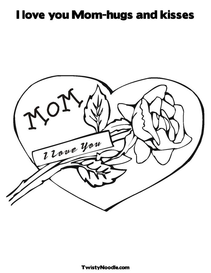 i love u mom coloring pages i love you mom coloring pages to download and print for free love pages i mom u coloring