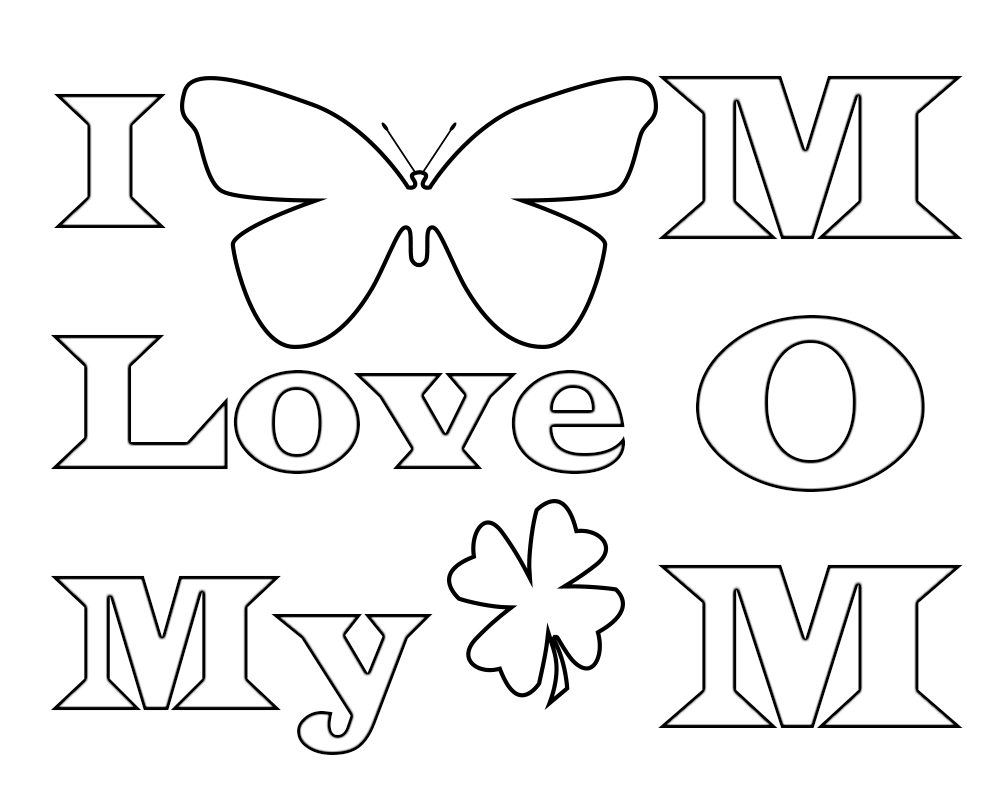 i love u mom coloring pages i love you mom coloring pages to download and print for free mom love pages coloring u i