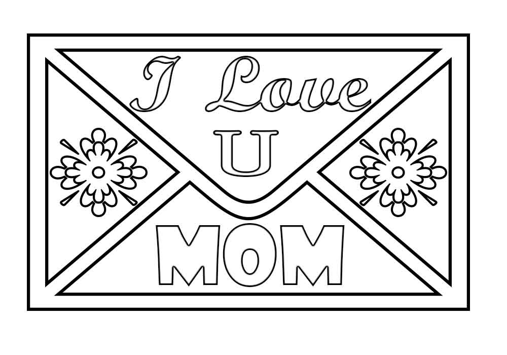i love u mom coloring pages i love you mom mother39s day coloring page free u pages mom coloring love i