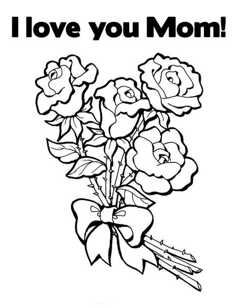 i love u mom coloring pages mom i love you so much coloring page free printable coloring i love mom pages u