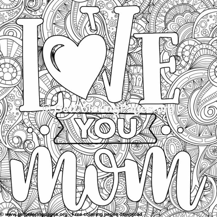 i love u mom coloring pages mother love you mom coloring pages getcoloringpagesorg love i u pages mom coloring