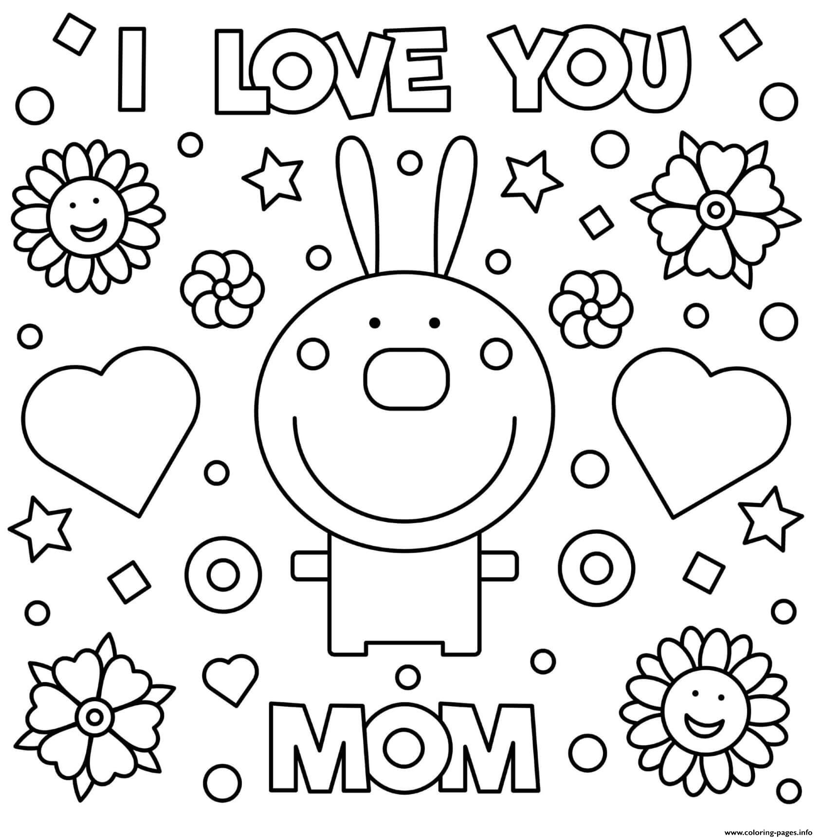 i love u mom coloring pages mothers day rabbit i love you mom coloring pages printable love mom i u pages coloring