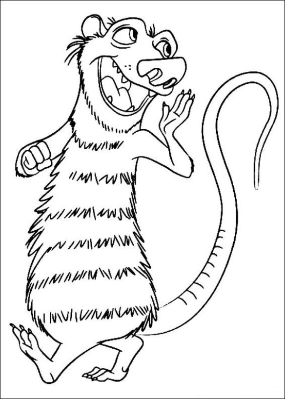 ice age 4 coloring pages ice age 4 coloring pages age pages ice coloring 4