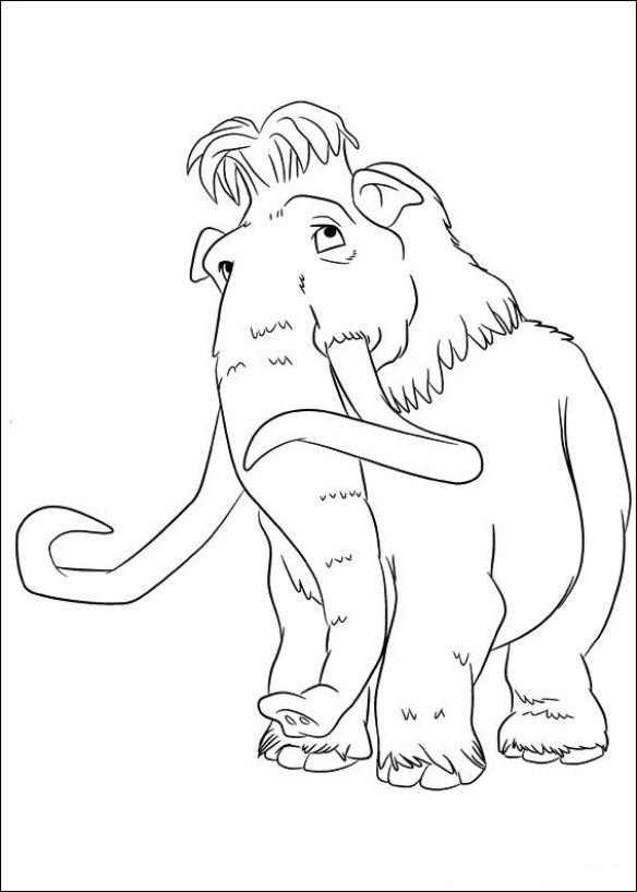 ice age 4 coloring pages ice age scrat ice age 4 continental drift coloring page ice age coloring 4 pages