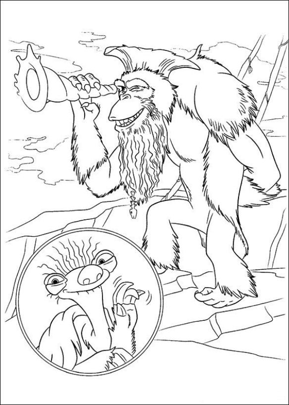 ice age 4 coloring pages ice age shira coloring pages coloring home ice age pages coloring 4