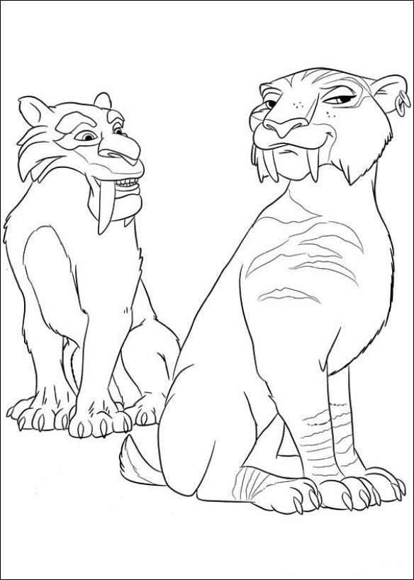 ice age 4 coloring pages kids n funcom 12 coloring pages of ice age 4 age coloring 4 pages ice
