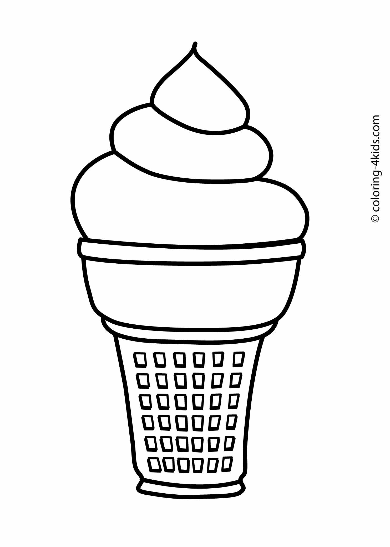 ice cream coloring pages free ice cream coloring pages free cream coloring free ice pages