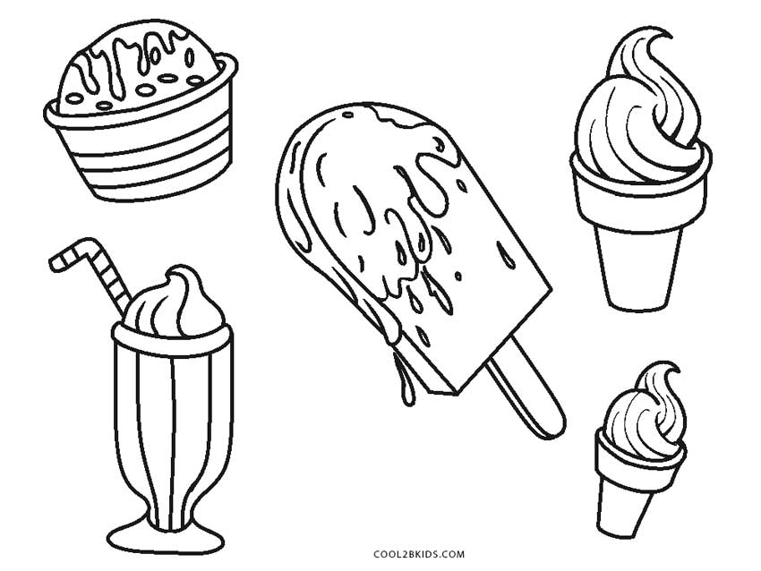 ice cream coloring pages free ice cream layer coloring pages ice cream summer coloring cream free pages coloring ice