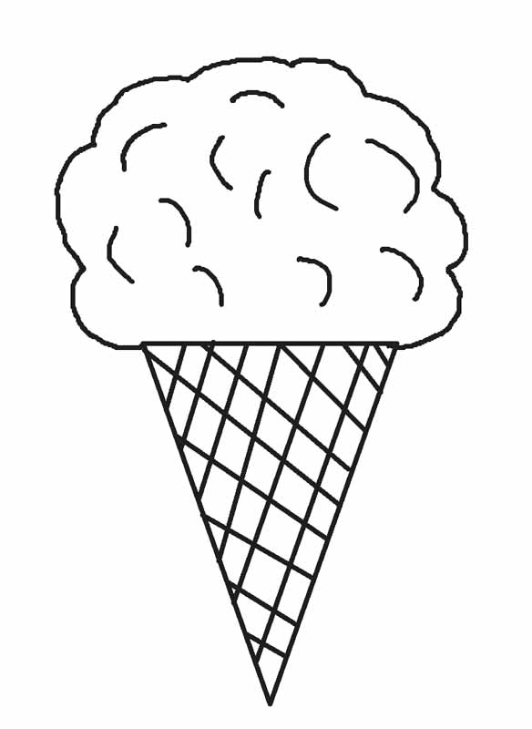 ice cream coloring pages free ice cream line drawing at getdrawings free download cream coloring free pages ice