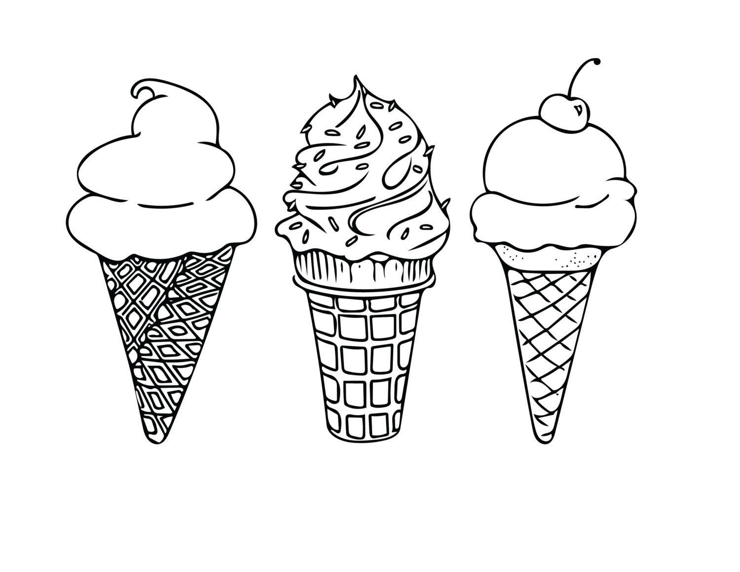 ice cream coloring pages free icecream coloring pages free ice coloring pages cream
