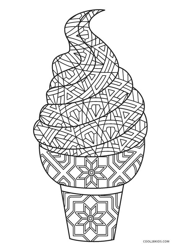 ice cream coloring pages free icecream cone coloring page at getcoloringscom free cream free coloring pages ice