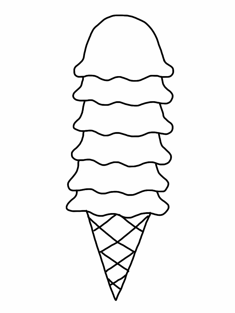 ice cream coloring template free printable ice cream coloring pages for kids ice cream template coloring