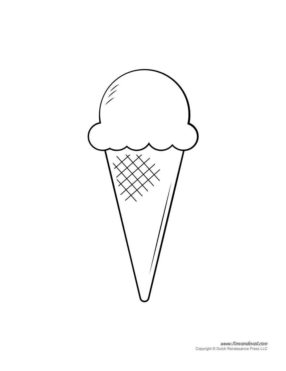 ice cream coloring template pin by summer garrett on coloring pages ice cream cream coloring ice template