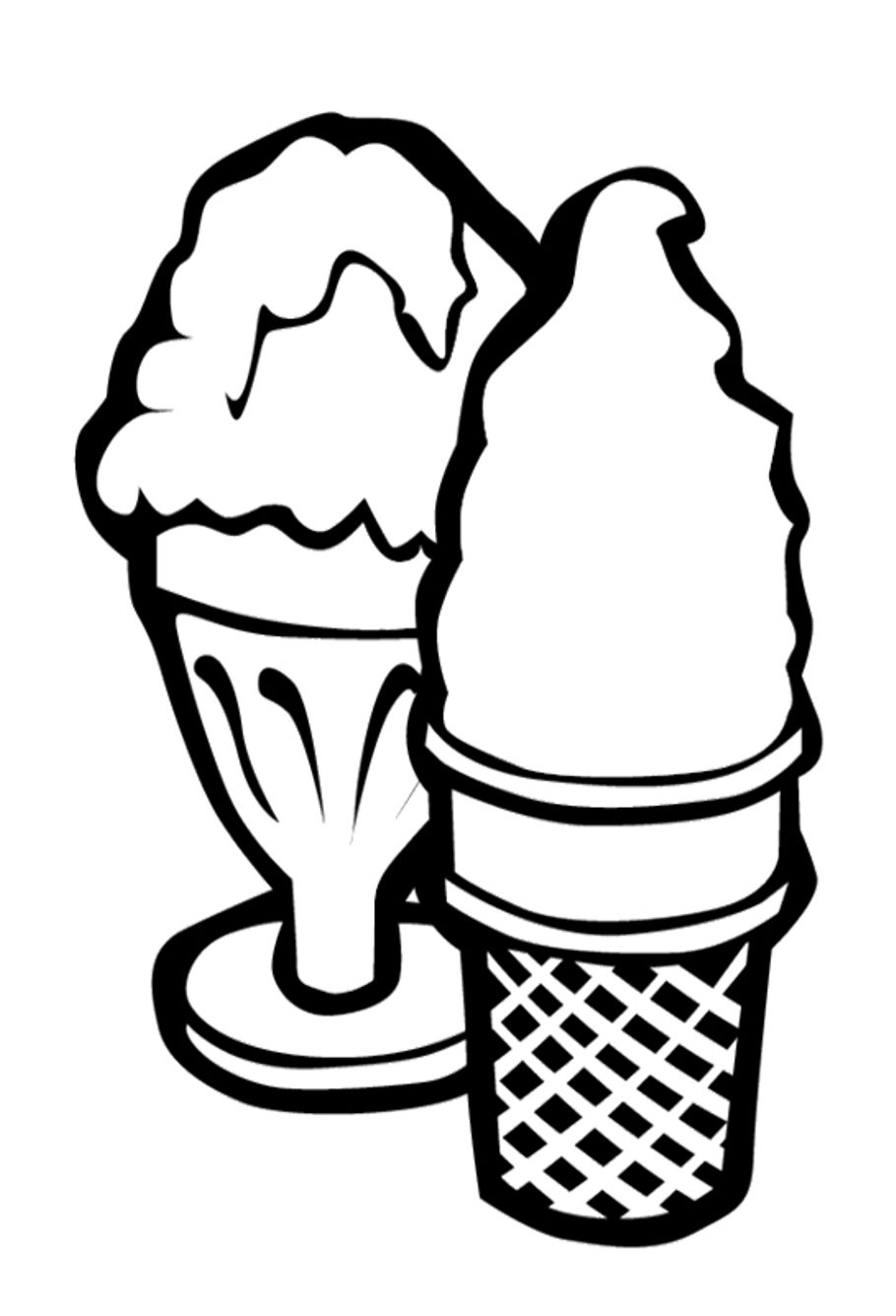ice cream coloring template printable coloring sheet instant download ice cream cones coloring template cream ice