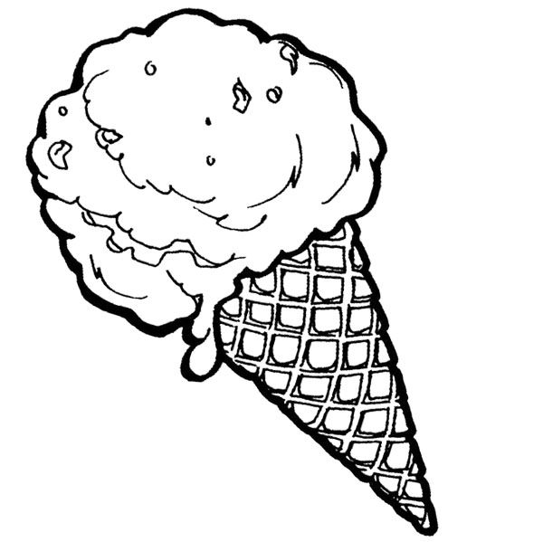 ice cream cone coloring picture free coloring pages of cone ice cone cream coloring picture