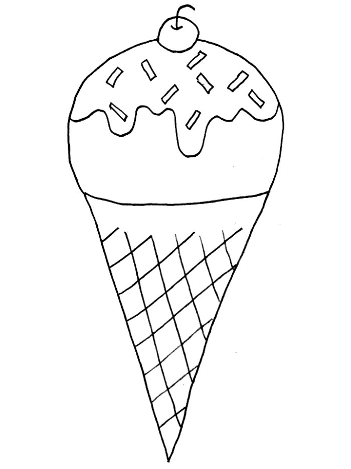 ice cream cone coloring picture free printable ice cream coloring pages for kids cone ice cream picture coloring