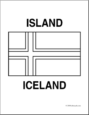 iceland flag coloring page flag color click iceland quiz by scuadrado page iceland coloring flag