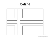 iceland flag coloring page iceland crayolaca coloring iceland flag page