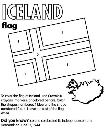 iceland flag coloring page iceland flag coloring flag coloring pages iceland page coloring flag