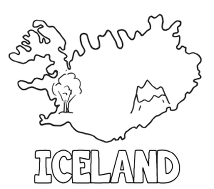 iceland flag coloring page regal national flag coloring flags of iceland flag page coloring iceland