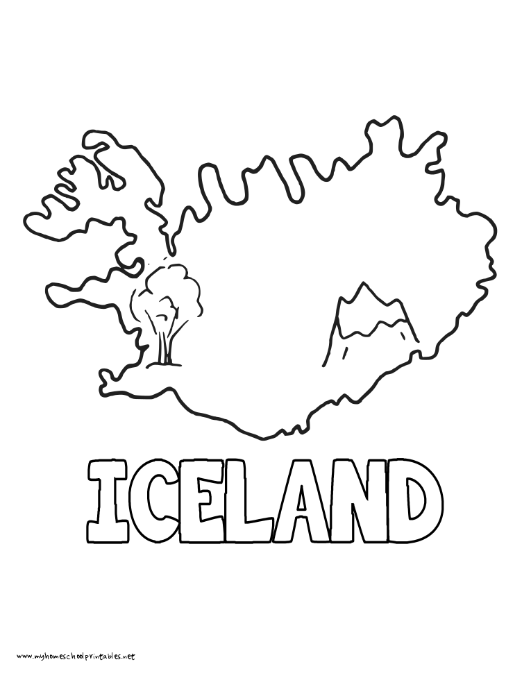 iceland flag coloring page regal national flag coloring flags of iceland page iceland coloring flag