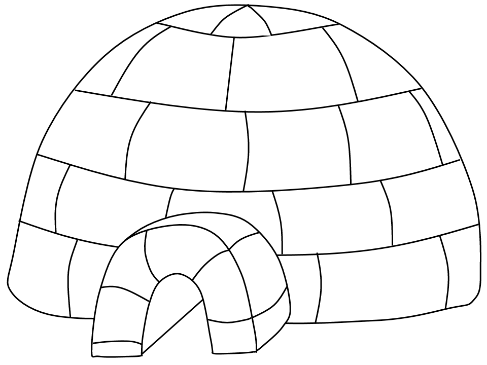 igloo pictures to color awesome coloring page igloo that you must know youre in pictures igloo color to