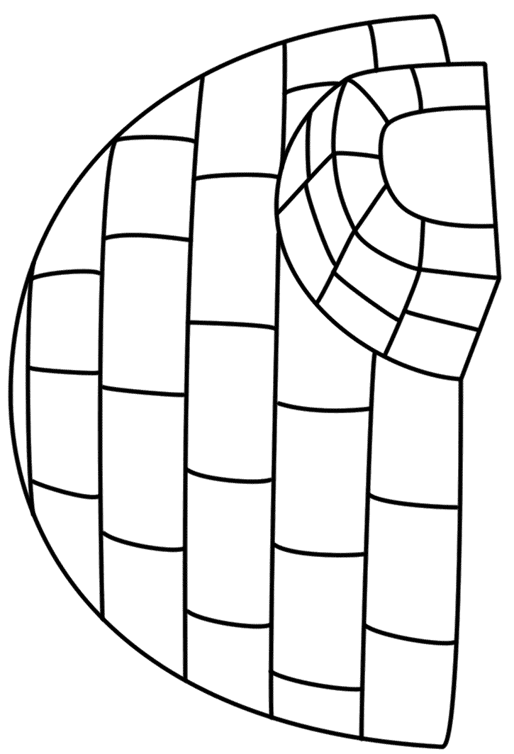 igloo pictures to color i is for igloo coloring page free i is for igloo pictures igloo color to