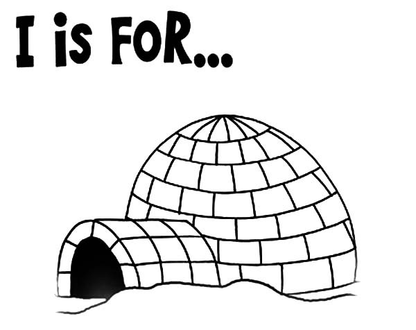 igloo pictures to color igloo coloring page igloo color pictures to
