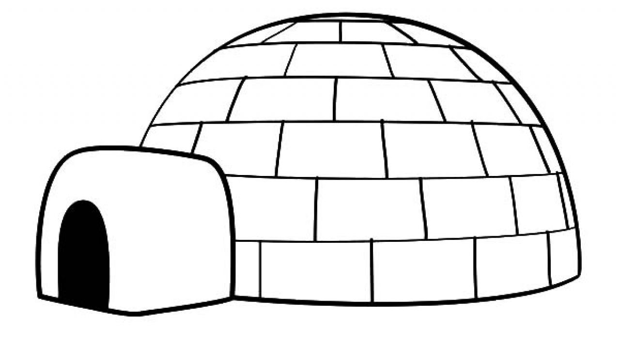 igloo pictures to color igloo coloring page igloo craft penguin coloring pages pictures to color igloo