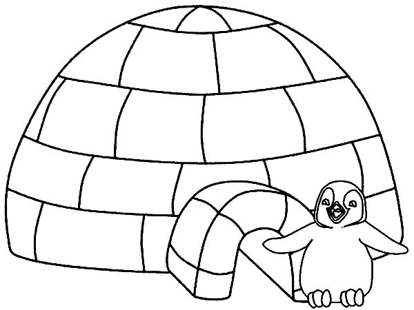 igloo pictures to color igloo coloring pages coloring pages to download and print color igloo pictures to