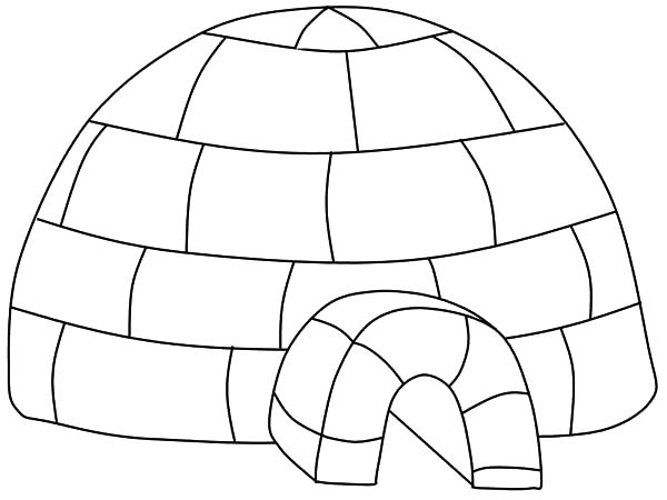 igloo pictures to color igloo coloring pages coloring pages to download and print to pictures color igloo