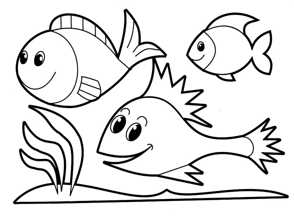 Images for coloring for toddlers